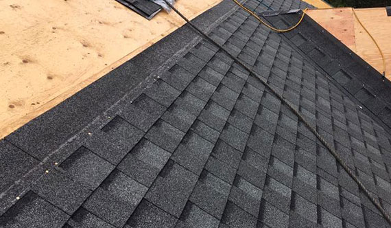 roof maintenance -- shingles roofing